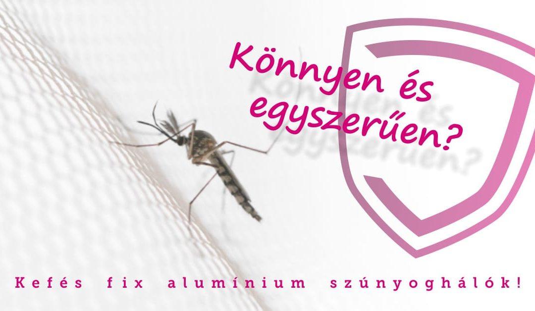 Kefés Fix alumínium keretes szúnyoghálók