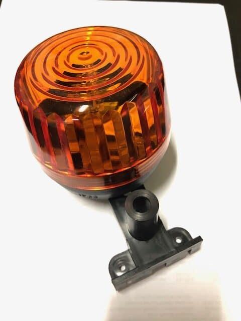 Jola redőnykapu homlokzaton elhelyezhető sárga figyelmeztető villogó lámpa